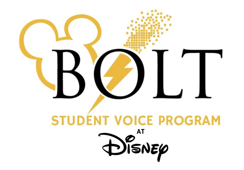 Building Our Leaders of Tomorrow (BOLT) Student Voice Program at Disney
