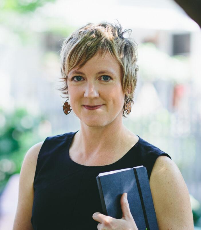 Head shot of Erin Walsh of Spark & Stitch Institute
